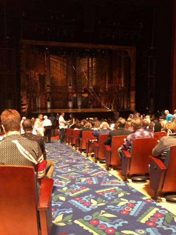 Au-Rene Theatre at the Broward Center, section: Orchestra L, row: X, seat: 1