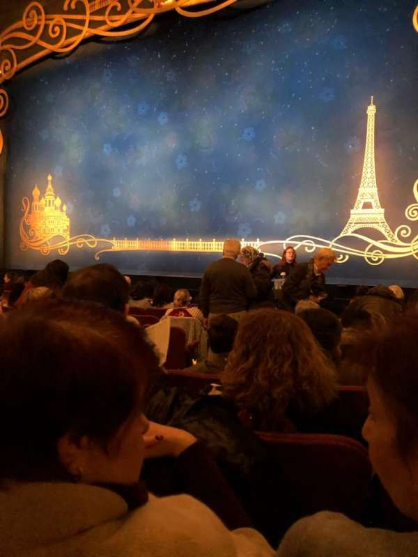 Broadhurst Theatre, section: Orchestra R, row: K, seat: 6