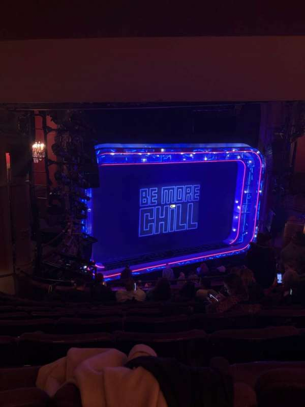 Lyceum Theatre (Broadway), section: Mezzanine L, row: G, seat: 21