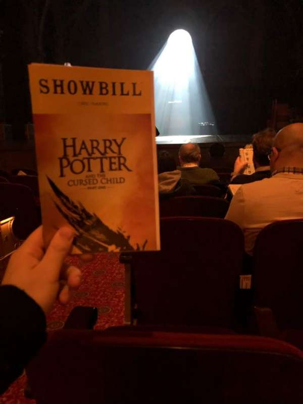 Lyric Theatre, section: Orchestra R, row: F, seat: 2