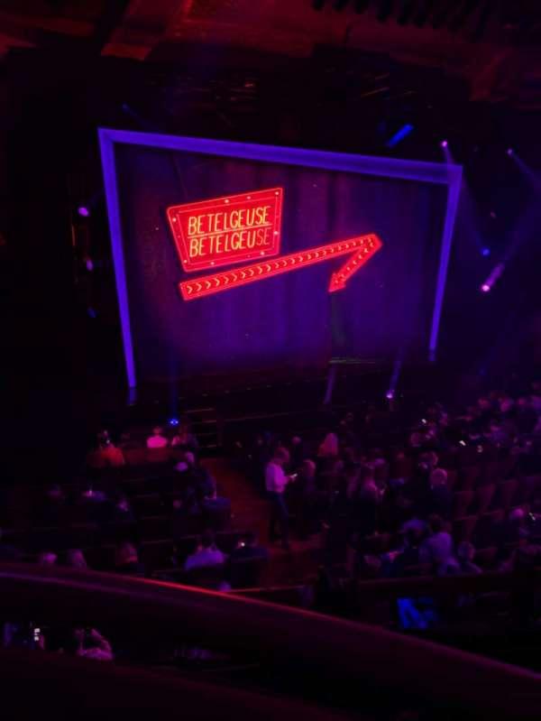Winter Garden Theatre, section: Mezzanine LC, row: A, seat: 121
