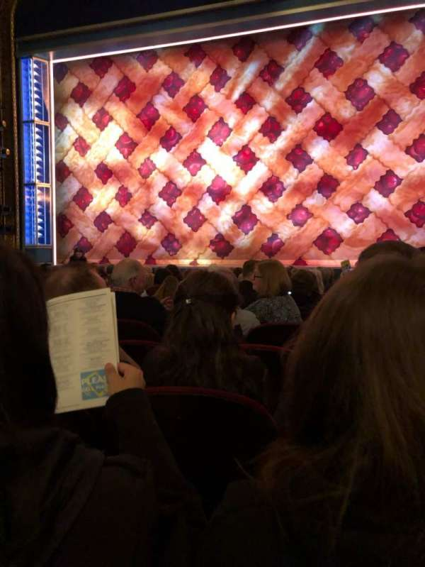 Brooks Atkinson Theatre, section: Orch, row: K, seat: 113
