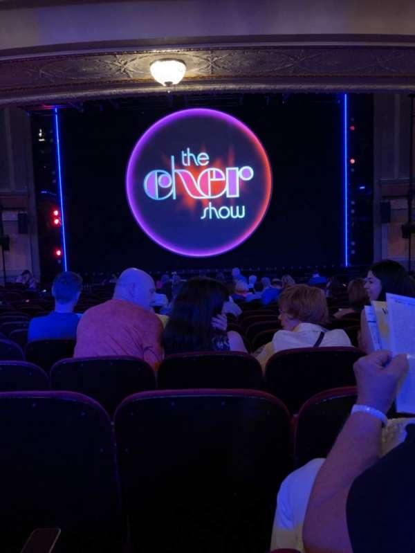 Neil Simon Theatre, section: Orchestra C, row: T, seat: 109