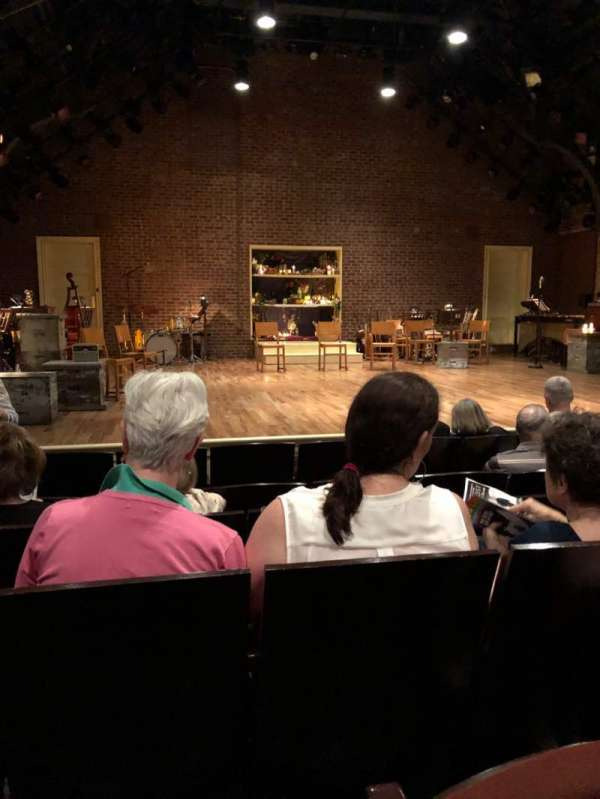 Linda Gross Theater, section: Orch, row: F, seat: 15