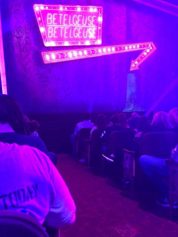 Winter Garden Theatre, section: Orchestra L, row: G, seat: 1