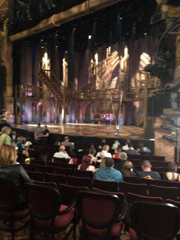 Richard Rodgers Theatre, section: Orchestra R, row: L, seat: 22
