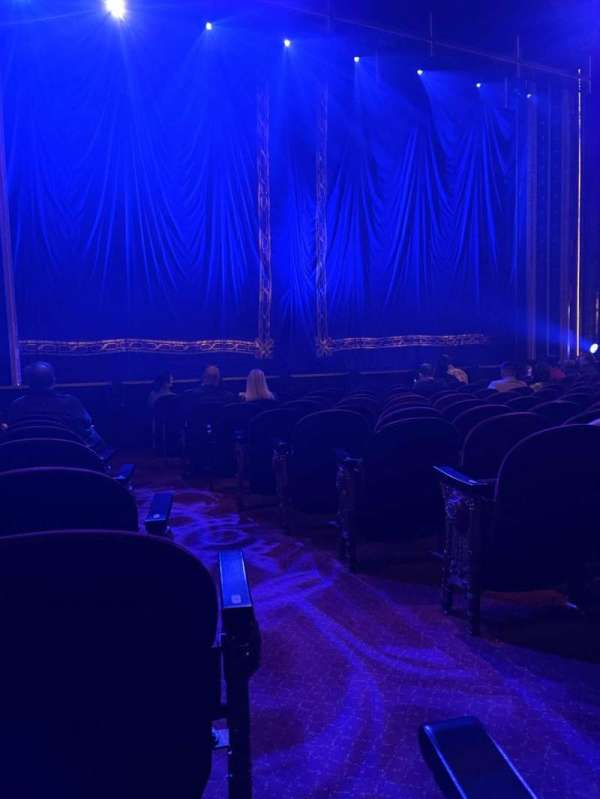 Brooks Atkinson Theatre, section: Orchestra L, row: K, seat: 3