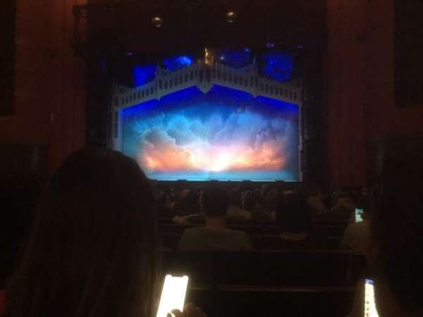 Kansas City Music Hall, section: Orchestra C, row: U, seat: 5