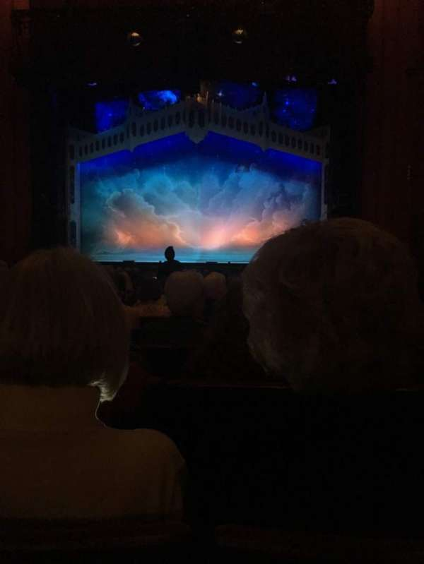 Kansas City Music Hall, section: CORC, row: U, seat: 8