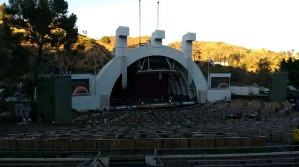 Hollywood Bowl, section: K1, row: 10, seat: 2