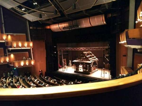 Ahmanson Theatre, section: Mezzanine, row: B, seat: 3