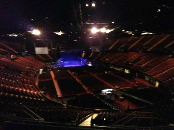 The Forum, section: 234, row: 8, seat: 11