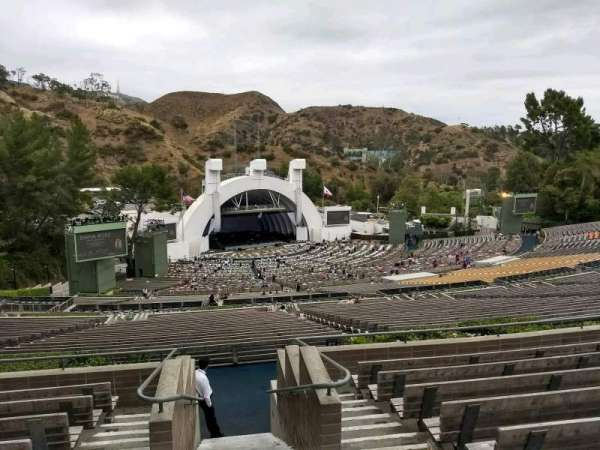 Hollywood Bowl, section: U3, row: 9, seat: 1