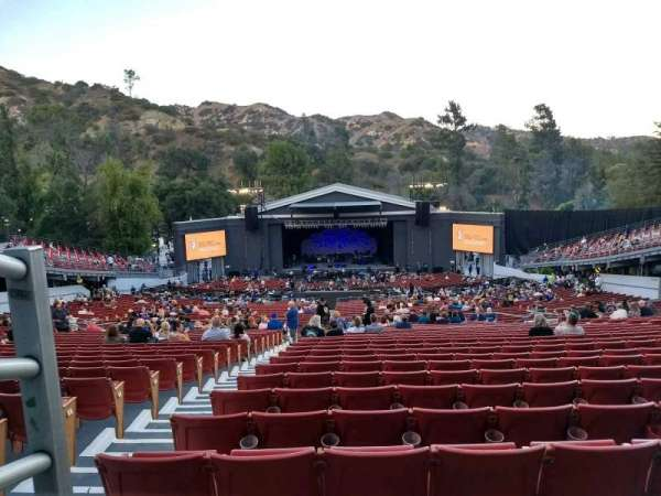 The Greek Theatre, section: Bench Right, row: D , seat: 2