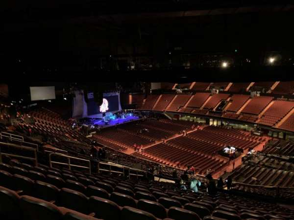 The Forum, section: 331, row: 20, seat: 14