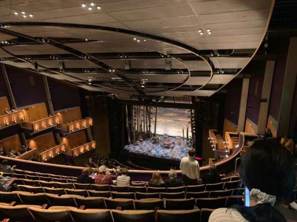 Ahmanson Theatre, section: Bal, row: J, seat: 1