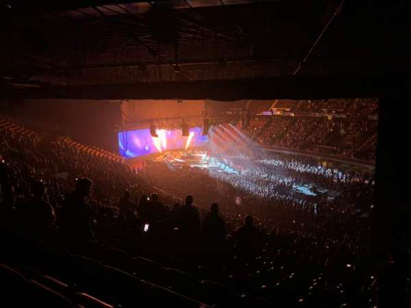 The Forum, section: 231, row: 19, seat: 18