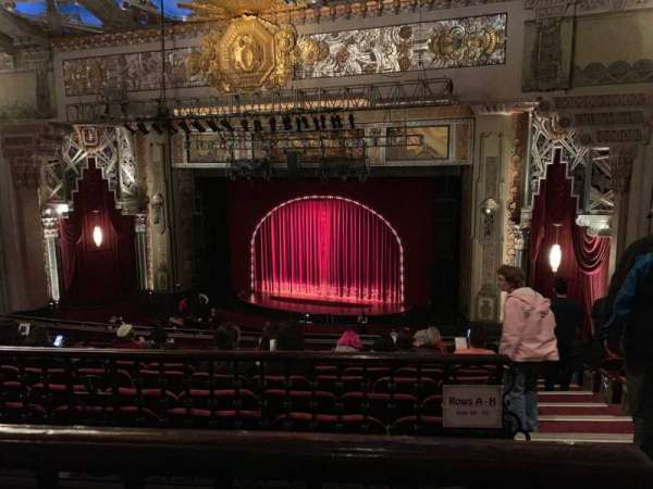 Hollywood Pantages Theatre, section: Mezzanine RC, row: K, seat: 214