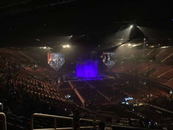 The Forum, section: 234, row: 12, seat: 1