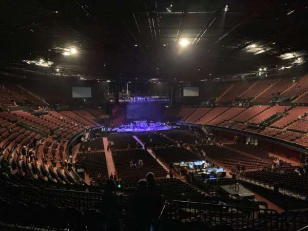 The Forum, section: 234, row: 4, seat: 14