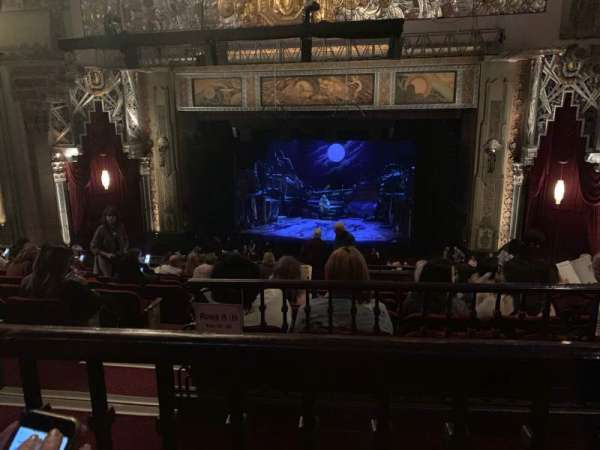 Hollywood Pantages Theatre, section: Mezzanine RC, row: J, seat: 203