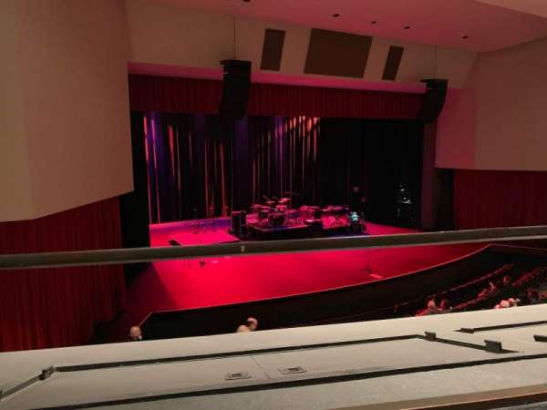 Downey Theatre, section: Balcony Left, row: AA, seat: 1