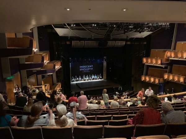 Ahmanson Theatre, section: Mezzanine , row: L, seat: 44