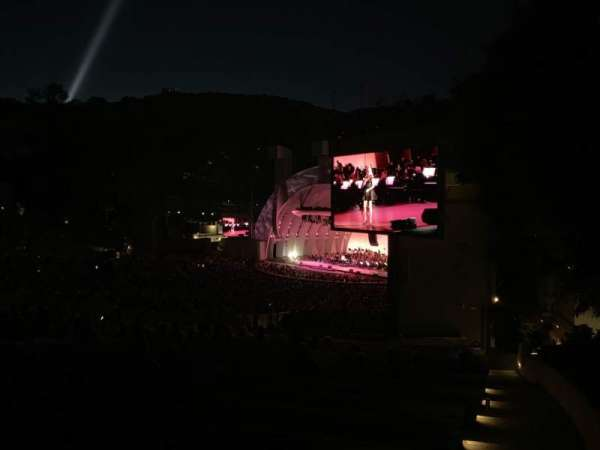 Hollywood Bowl, section: F3, row: 18, seat: 30
