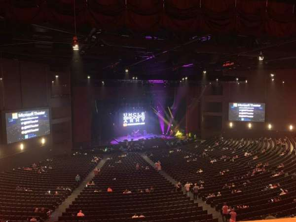 Microsoft Theater, section: Lower Mezz Left, row: C, seat: 501