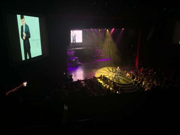 Donny & Marie Showroom, section: Balcony , row: A, seat: 3