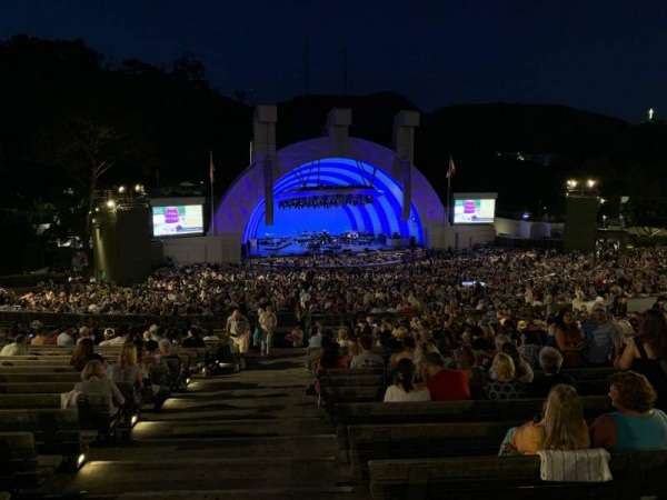 Hollywood Bowl, section: J2, row: 22, seat: 43
