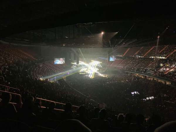 The Forum, section: 233, row: 15, seat: 8