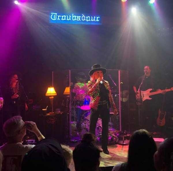 Troubadour, section: GA Floor