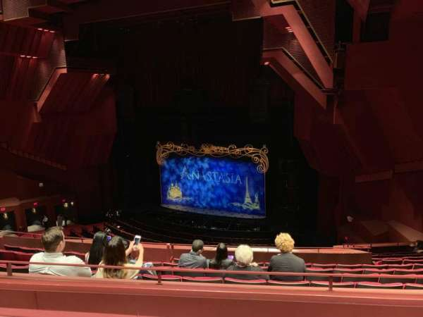 Segerstrom Hall, section: Loge, row: K, seat: 119