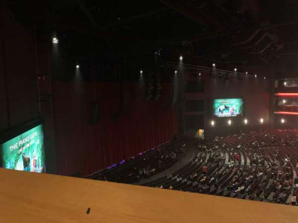 Microsoft Theater, section: Mezz Box F, row: 1, seat: 638