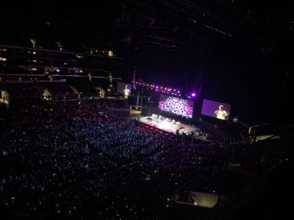 Staples Center, section: 303, row: 1, seat: 15
