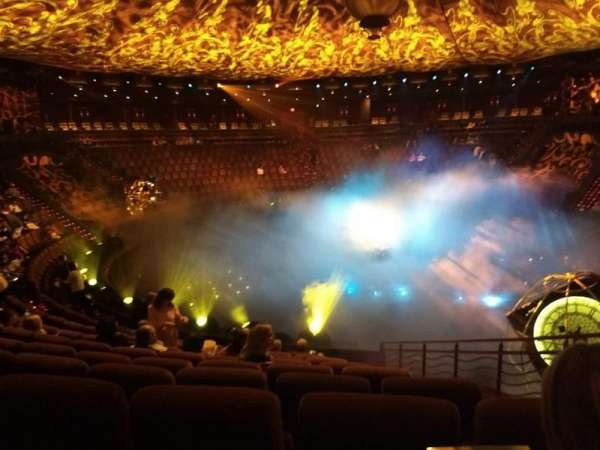 Le Reve Theater , section: A, row: I, seat: 3