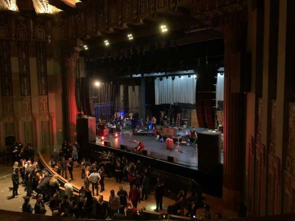 The Wiltern, section: Loge, row: AA, seat: 20