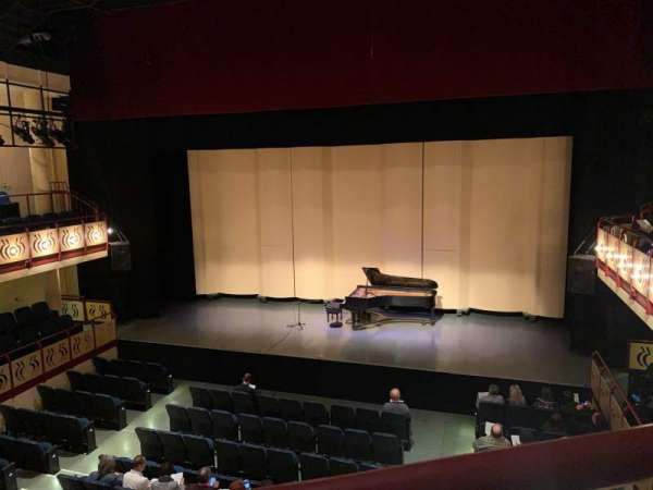 Ruth B. Shannon Center For The Performing Arts, section: Bal 1, row: A, seat: 7