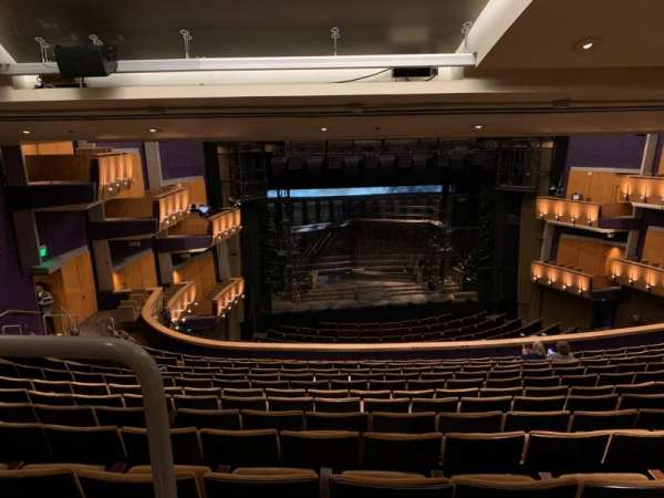 Ahmanson Theatre, section: Mezzanine , row: N, seat: 36