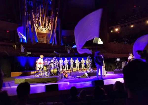 Walt Disney Concert Hall, section: Front Orch, row: EE, seat: 161