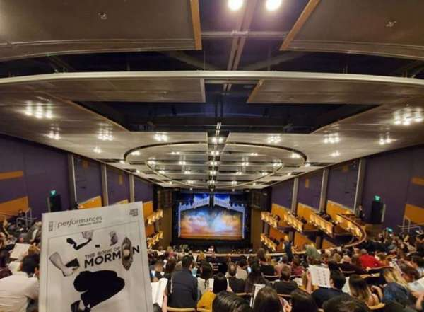 Ahmanson Theatre, section: Balcony, row: K, seat: 21