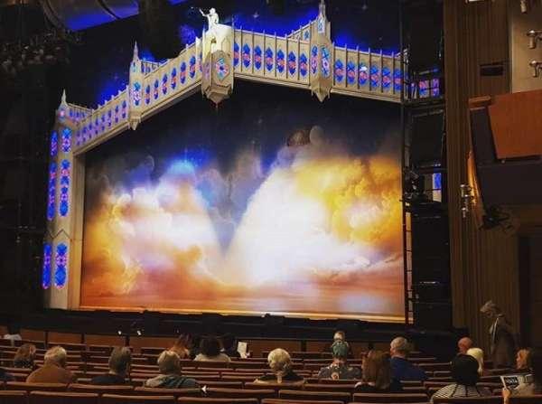 Ahmanson Theatre, section: Orchestra, row: P, seat: 6