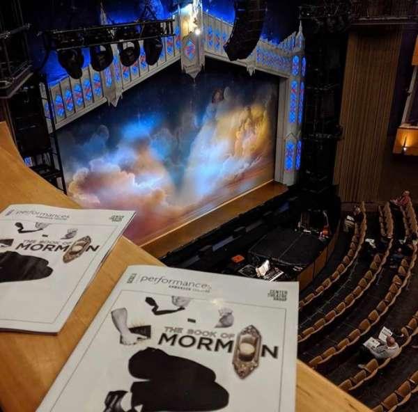 Ahmanson Theatre, section: Balcony, row: BXE, seat: 204