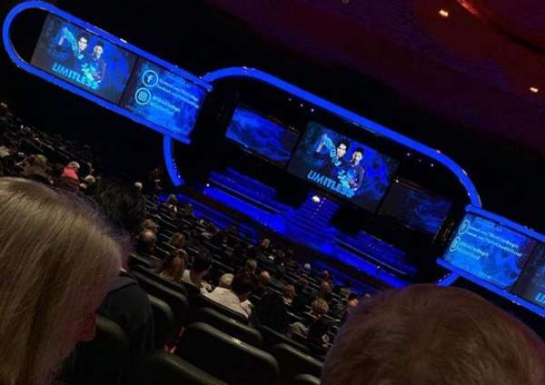 Terry Fator Theatre - The Mirage, section: 102, row: O, seat: 9