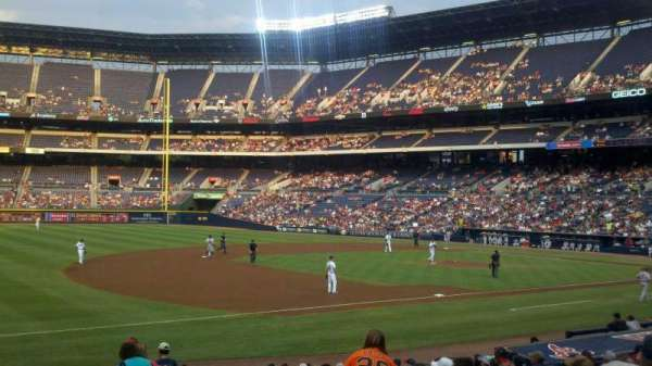 Turner Field, section: 120, row: 20, seat: 101
