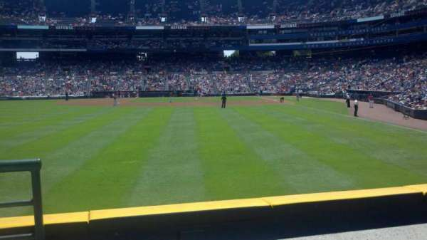 Turner Field, section: 136R, row: 14, seat: 1