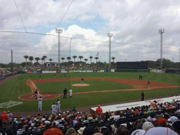 Joker Marchant Stadium, section: 204, row: L, seat: 23