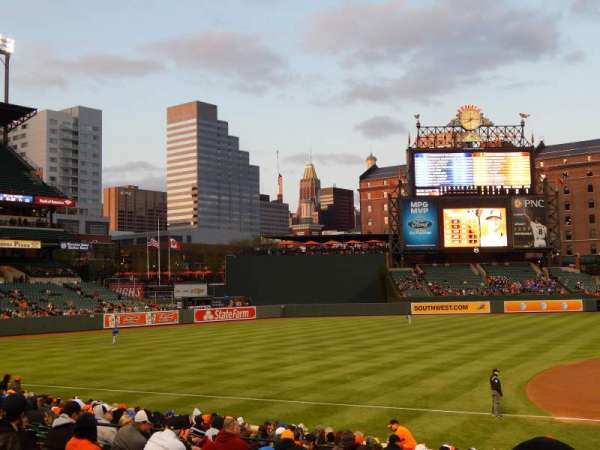 Oriole Park at Camden Yards, section: 58, row: 16, seat: 1