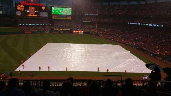 Busch Stadium, section: 257, row: 1, seat: 7